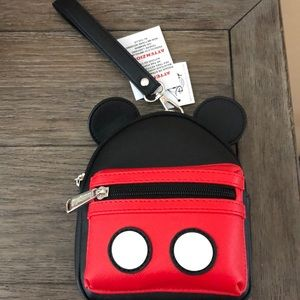 Loungefly Disney Wristlet NEW WITH TAGS
